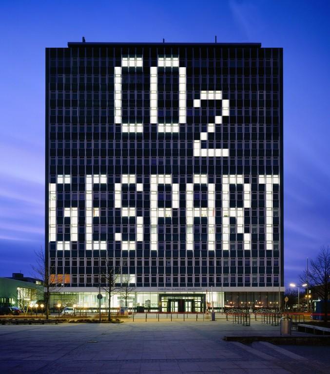 CO² Gespart Hochhaus