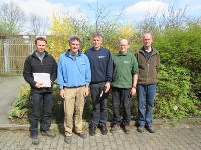 team  botanischer garten