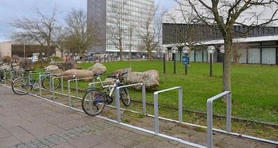 Fahrradbügel Audimax