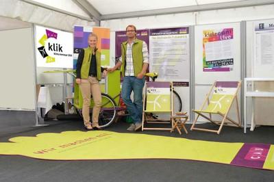 Info-Stand zur Kieler Woche 2014