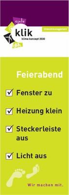 Feierabend-Checkliste